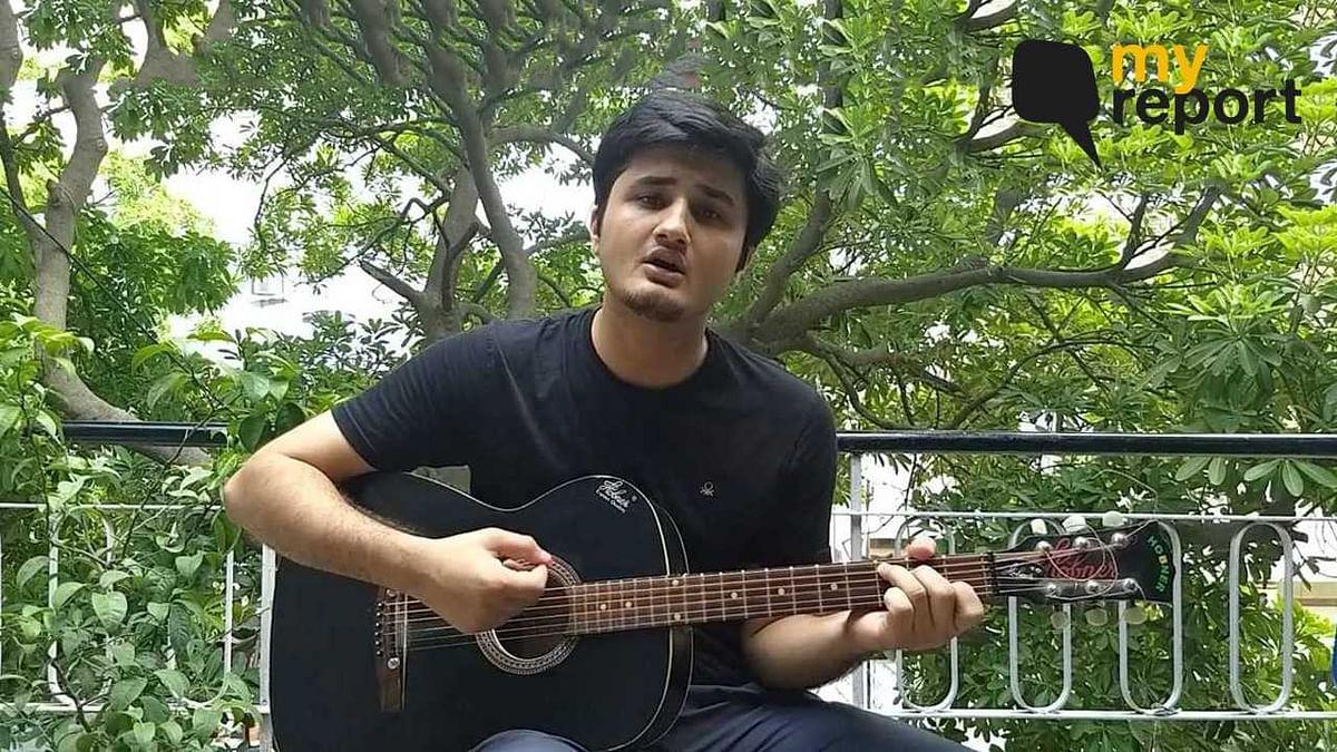 Watch Poojan Sahil sings to save trees