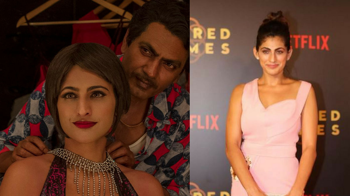 Whiskey & Anurag Kashyap Helped Kubbra Sait on 'Sacred Games' Sets