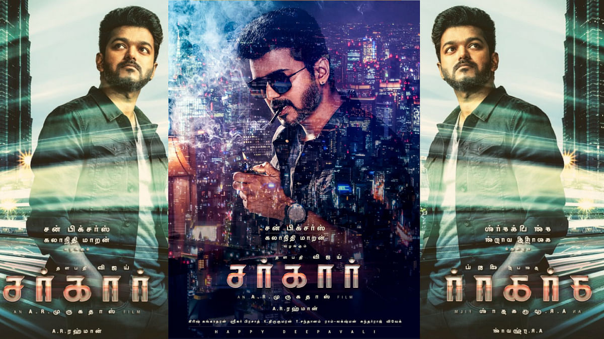 Huge Cut-Outs to 24-Hour Screening, Vijay's 'Sarkar' Frenzy  Peaks