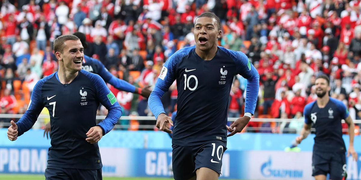 French teenager Kylian Mbappe has been sensational in the World Cup, announcing his presence in the world