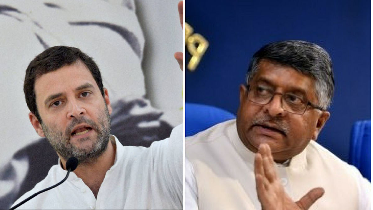 Questions on China Should Not Be Asked on Twitter: RSP Tells Rahul