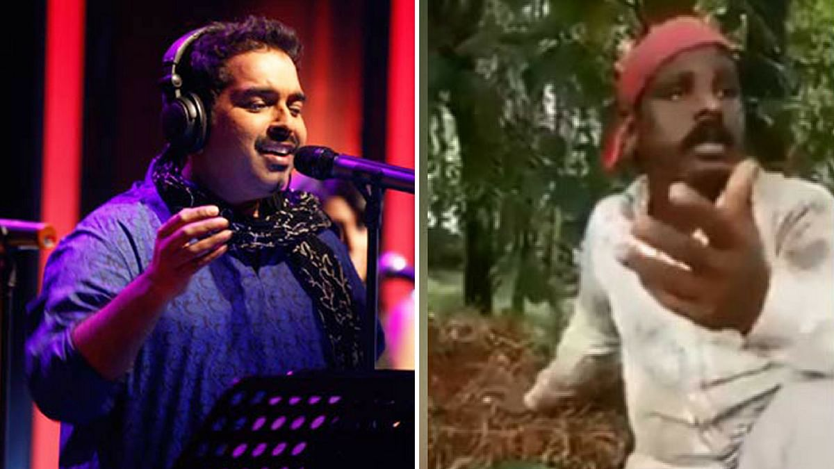 Shankar Mahadevan traces Rakesh Unni, whose song went viral on the internet.