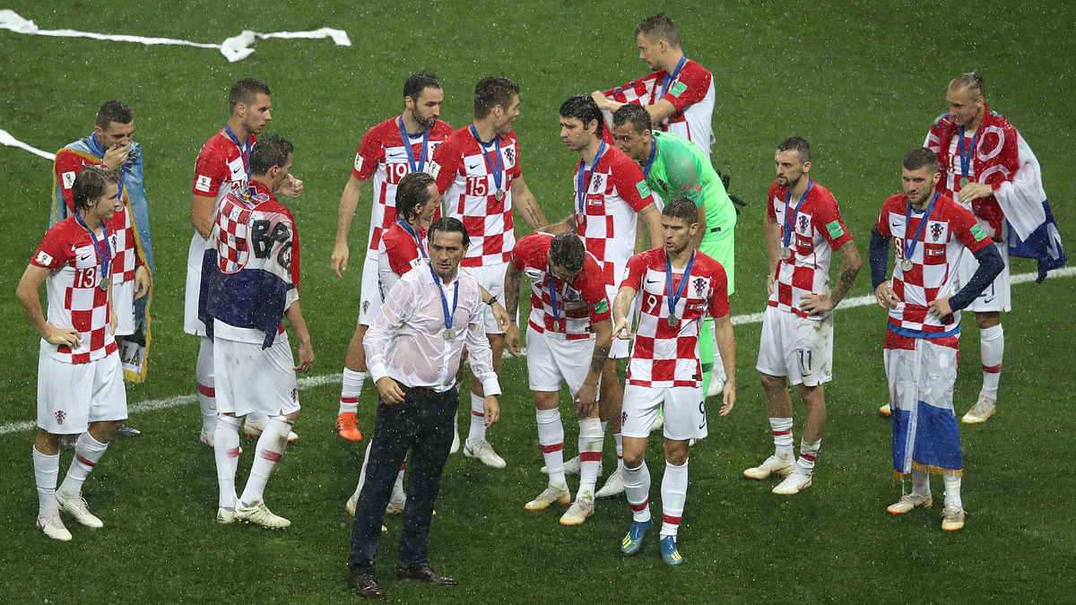 Croatia coach Zlatko Dalic told his players they should be proud of their sensational World Cup run.