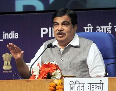 Union Minister for Road Transport & Highways and Shipping Nitin Gadkari. (File Photo: IANS)