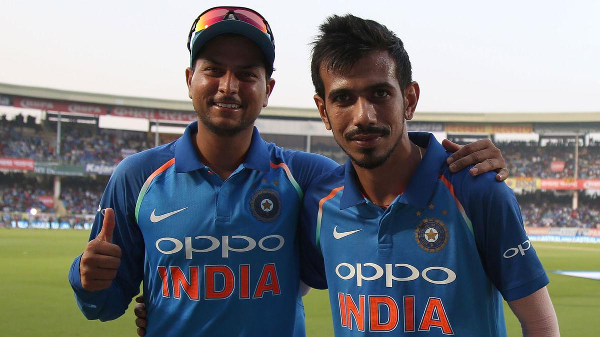 File photo of Kuldeep Yadav and Yuzvendra Chahal.