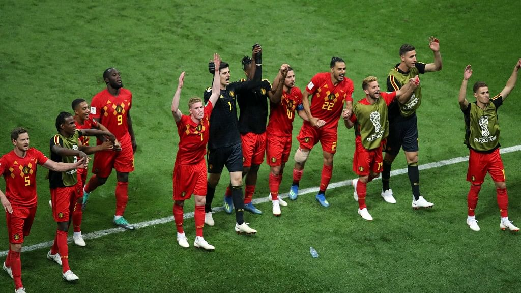 Belgium have reached the semi-finals for the first time since 1986.