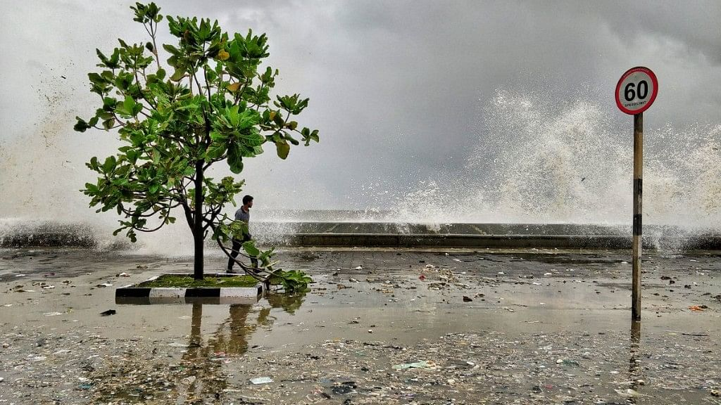 In Photos: Marine Drive Littered as Sea Returns Tonnes of Waste