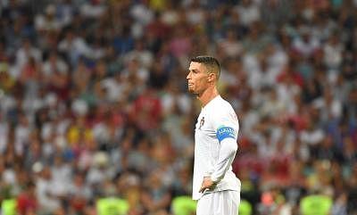 Cristiano Ronaldo. (Xinhua/Liu Dawei/IANS)