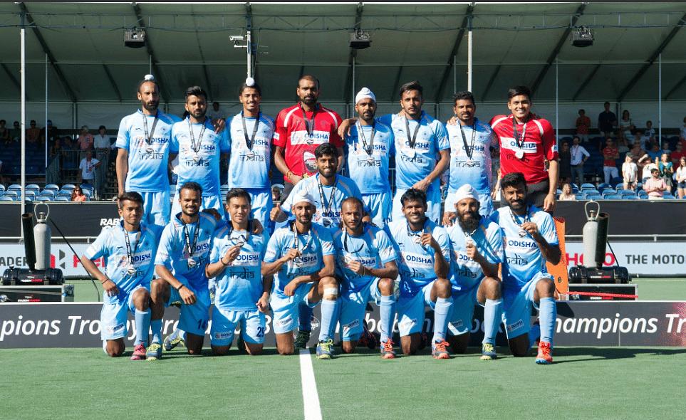 The Indian men's hockey team.