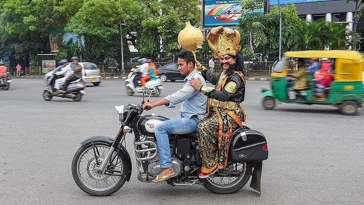 Bengaluru Traffic Police Rope in Yamaraja To Promote Road Safety