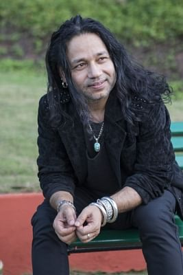 Singer and composer Kailash Kher.