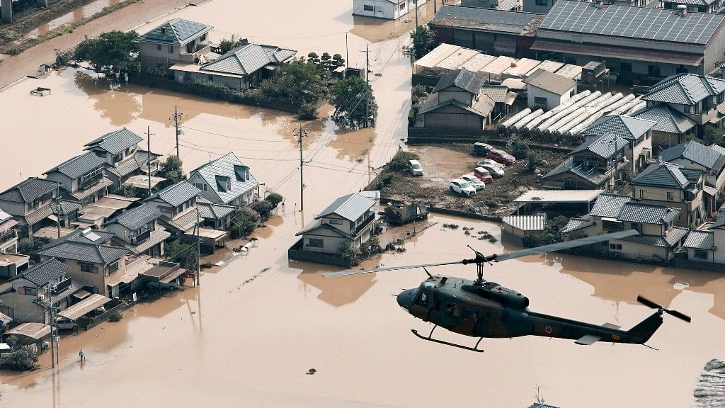 Torrential rains unleashed floods and set off landslides in western Japan in the second week of July, killing at least 176 people.