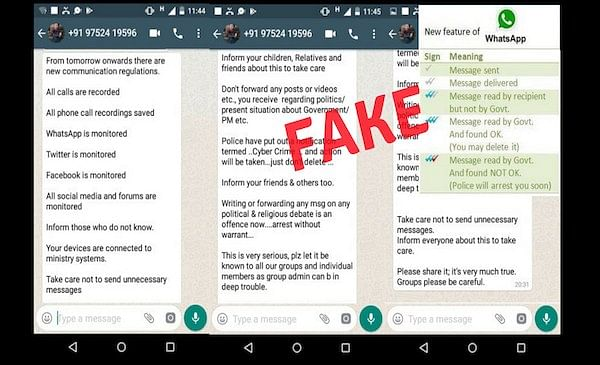 WebQoof: No, The Govt Isn't Reading Your WhatsApp Messages
