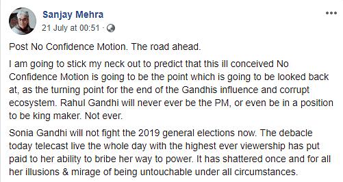 Fake Article on Rahul Gandhi Damaging to My Reputation: Mark Tully