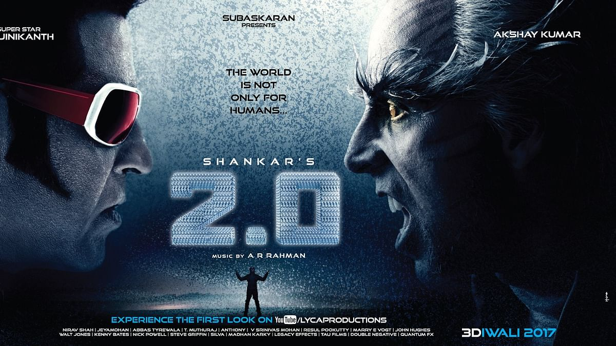 Rajinikanth's 2.0 will release on 29 November.