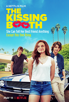 Poster of Netflix film, <i>The Kissing Booth</i>.