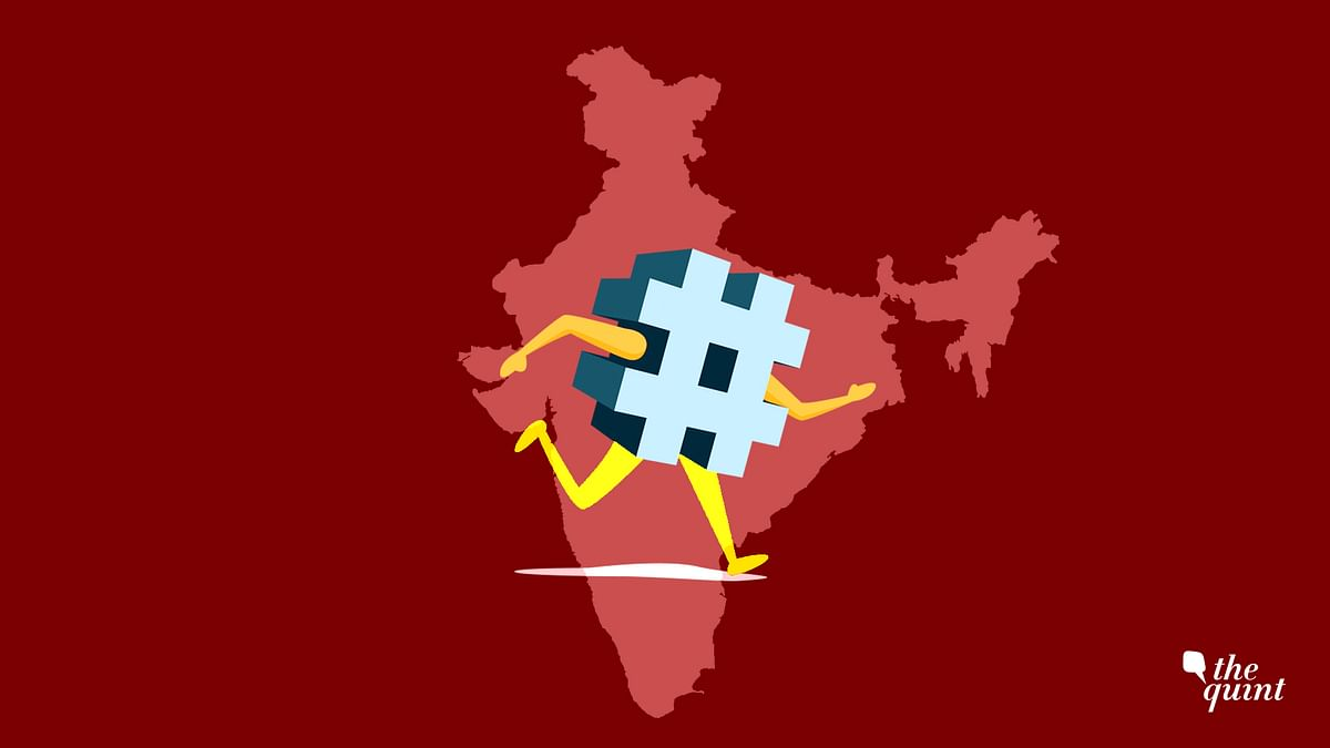 Here's a look at five impactful hashtags started by Indians.