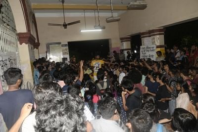 Kolkata: Jadavpur University students go on indefinite hunger strike to protest against university authorities