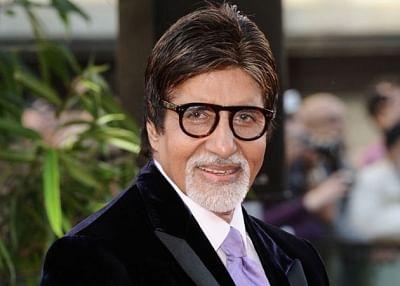 Actor Amitabh Bachchan.