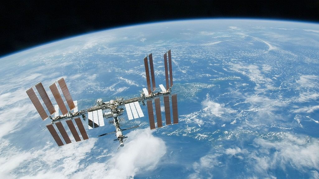 International Space Station shot from the space. Image used for representational purposes.