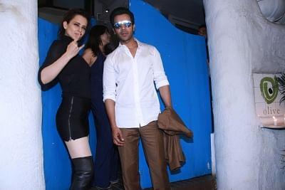 Kangana Ranaut and Rajkummar Rao. (Photo: IANS)