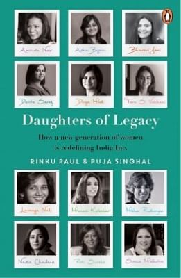 """Book Cover of """"Daughters of Legacy"""" (Photo: Source: Penguin India website)"""