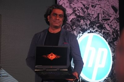 New Delhi: HP Inc India Senior Director (Personal Systems) Vickram Bedi at the launch of HP Pavilion Gaming and Omen laptops, in New Delhi on July 10, 2018. (Photo: IANS)