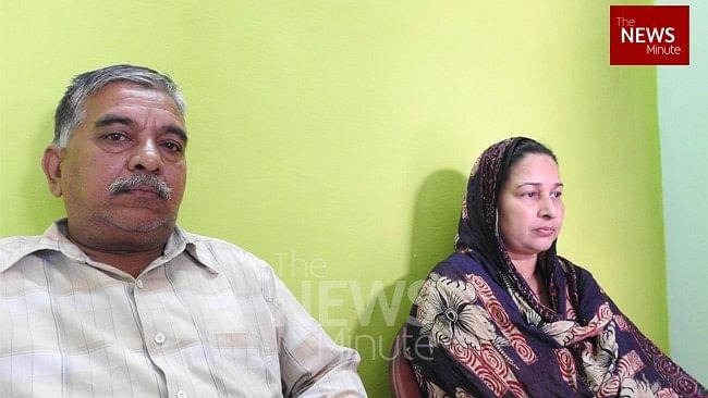 Azam's parents