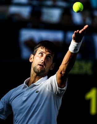 Novak Djokovic. (Xinhua/Tang Shi/IANS)
