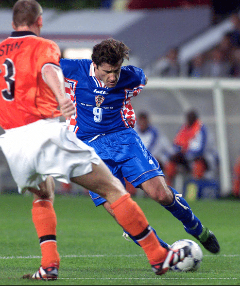 Davor Suker of Croatia led his team to the bronze medal in 1998 against The Netherlands, and secured his Golden Boot