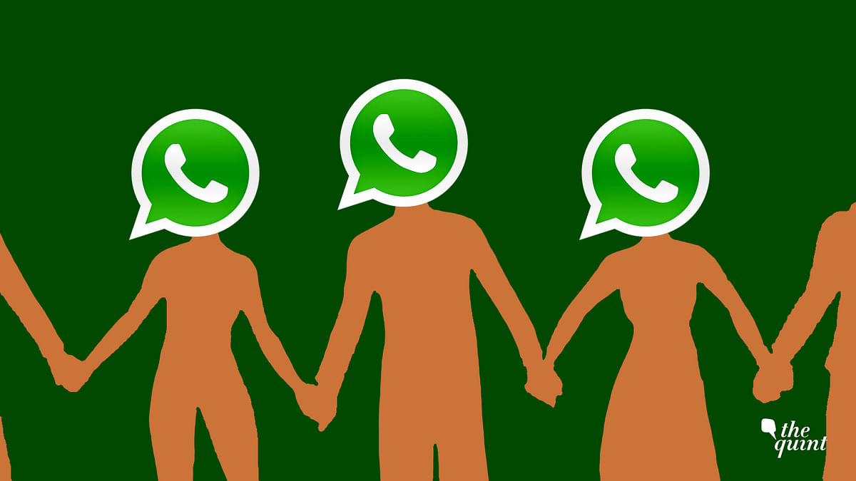 """WhatsApp described India as a country """"where people forward more messages, photos, and videos than any other country in the world""""."""