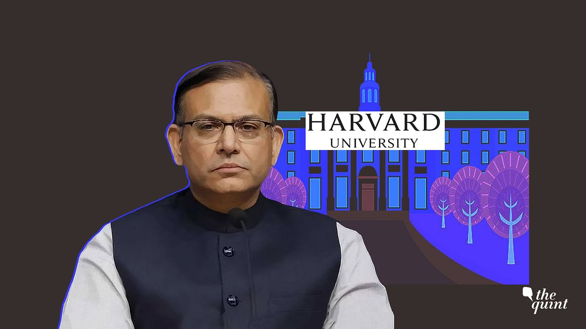 To Question Harvard's Silence on Jayant Sinha Would Be Naive