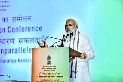 Pulled economy out of morass, 'jobless growth' an opposition construct: Modi