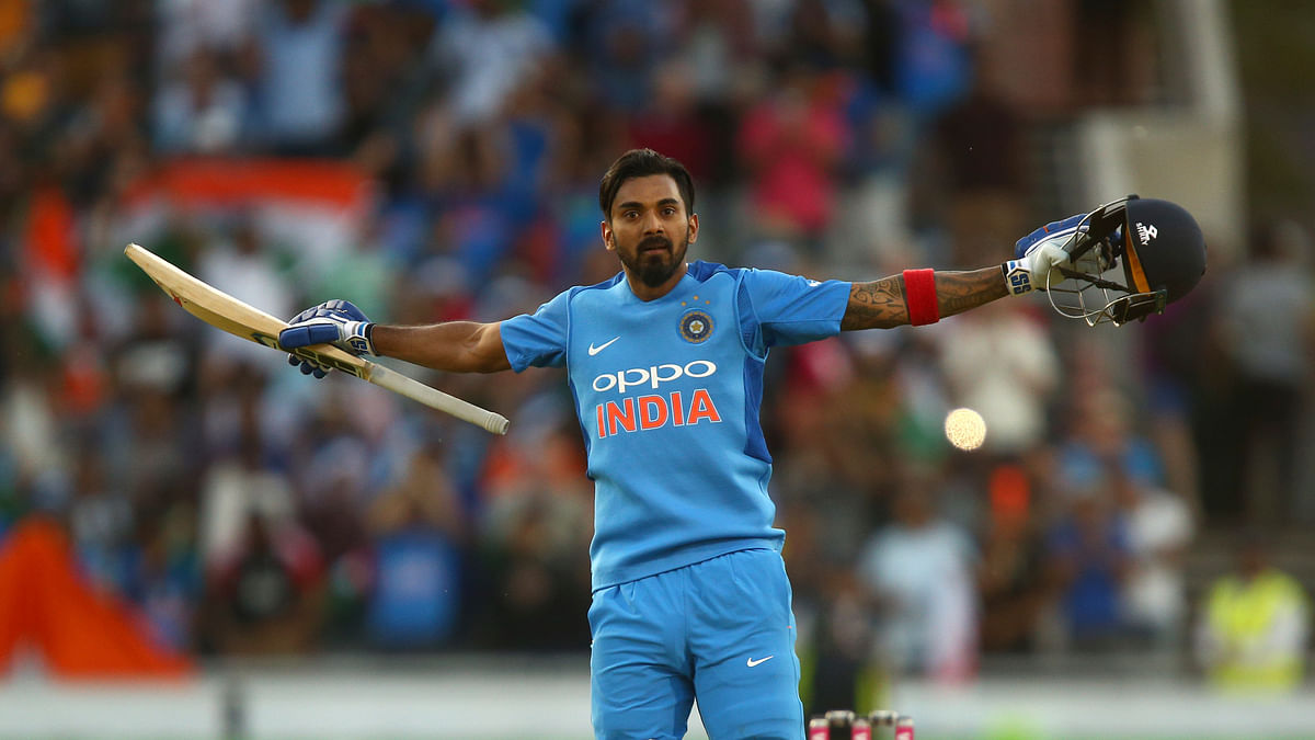 KL Rahul scored his second T20I century on Tuesday night, against England.