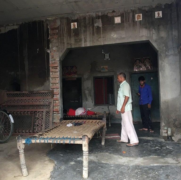Yudhisthir Sisodia's house.
