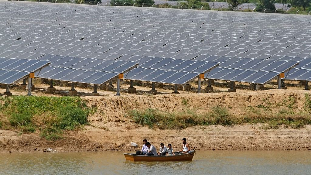 A solar farm in Gujarat. Photo used for representational purposes.