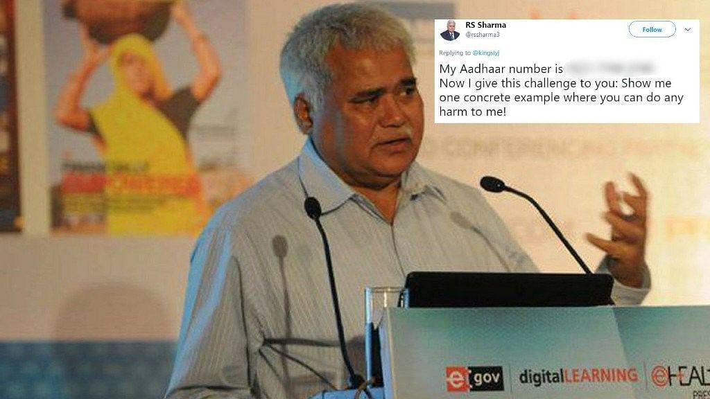 Aadhaar Dare: Hackers Deposit Re 1 in TRAI Chief's Bank Account