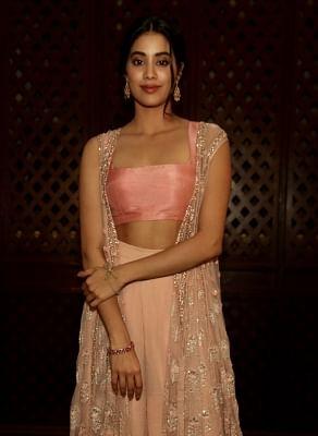 Actress Janhvi Kapoor.
