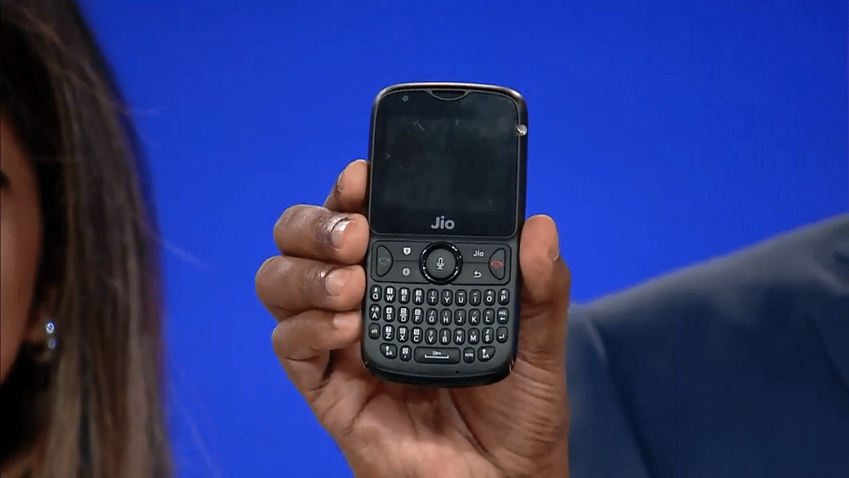 JioPhone 2 announced at this year's Reliance AGM.