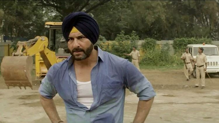 A still from Netflix show, <i>Sacred Games</i>.