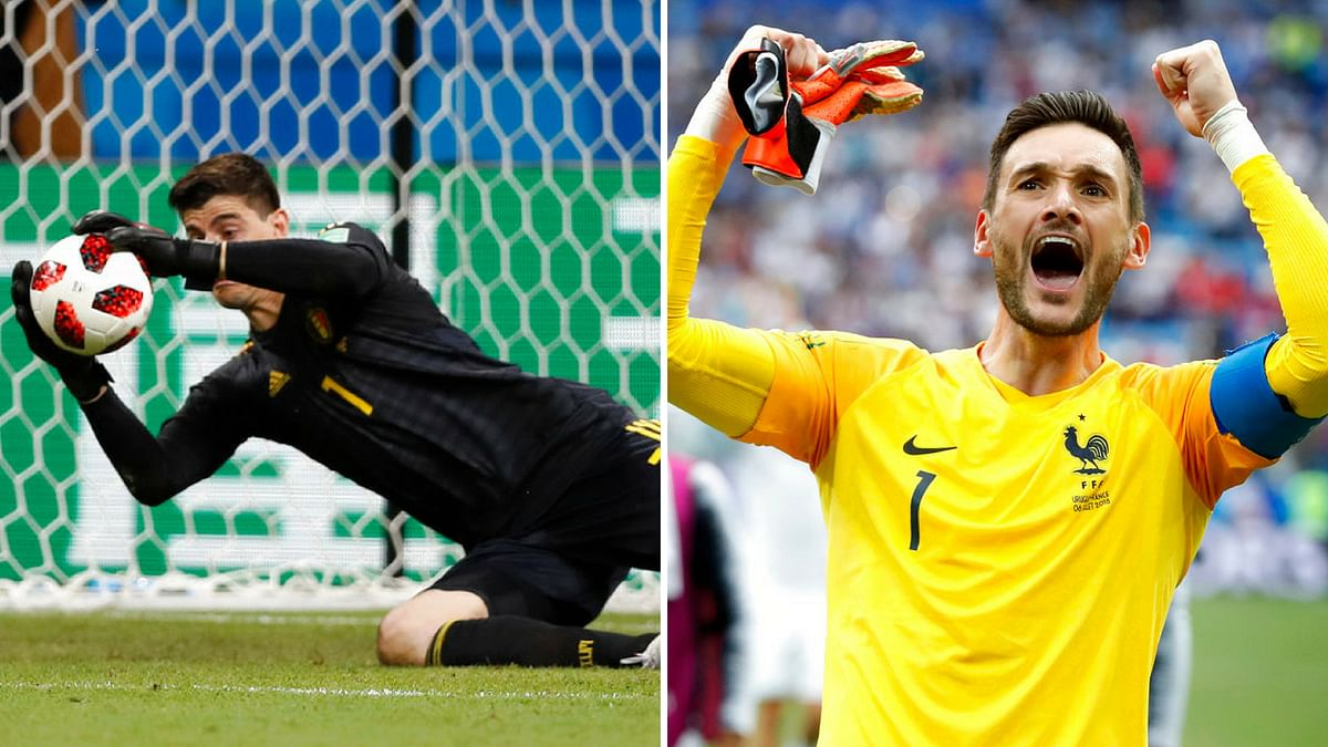 Both goalkeepers have performed well in the world cup, with Courtois being a contender for the Golden Glove