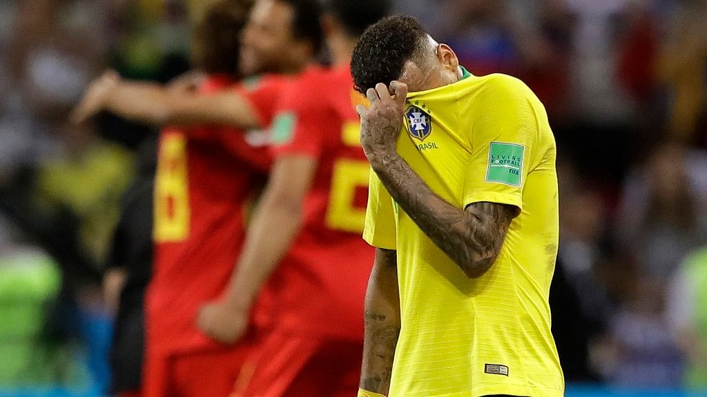 Twitter Erupts to Give Brazil And Neymar a Send Off
