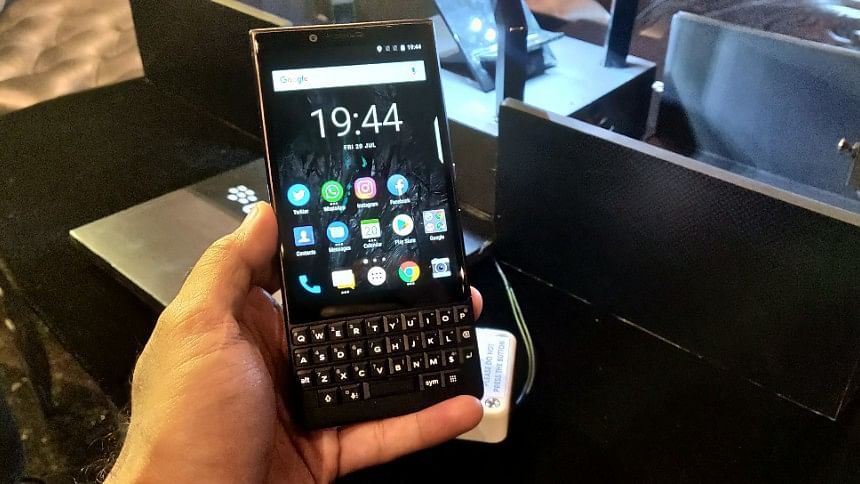 Blackberry Key2 First Impressions: Too Big a Price for Security?
