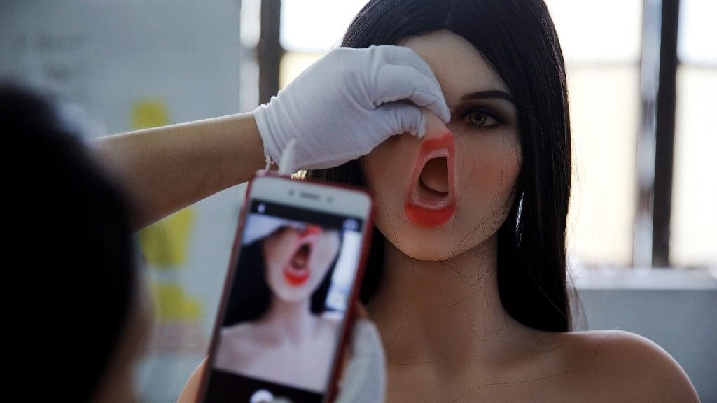 In Pics: Artificial Intelligence Powers Sex Dolls in China