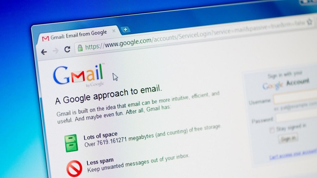 Gmail was introduced in 2004.