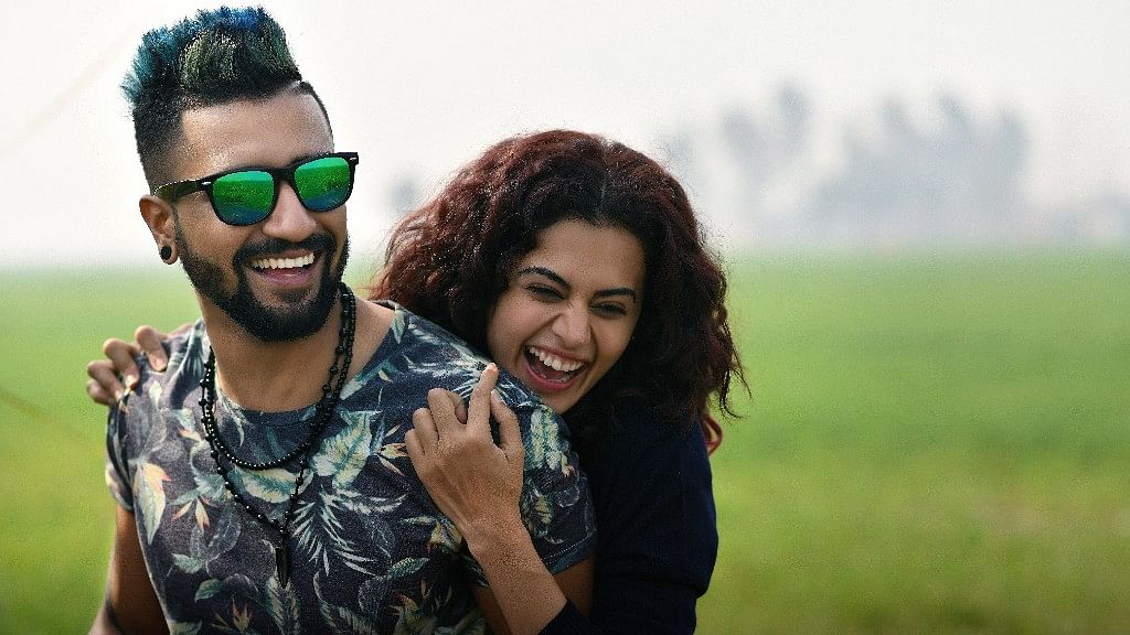 Vicky Kaushal &amp; Taapsee Pannu star in <i>Manmarziyaan</i>.