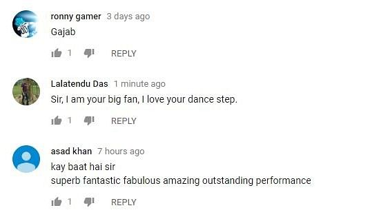 Check Out Dancing 'Dabbu' Uncle's 'Mithun Da' Moves in New Video