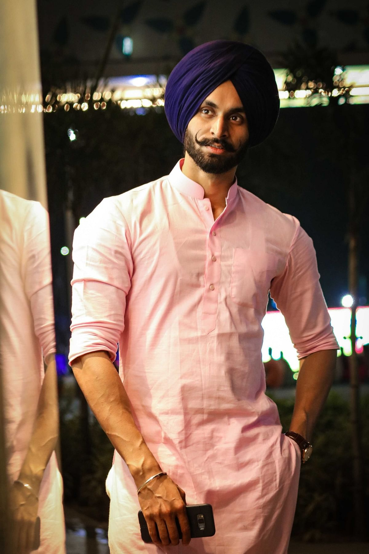 """Everybody felt that the fashion industry had little scope for turbaned Sikh men,"" he says."