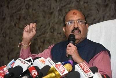 Rajya Sabha MP Amar Singh. (Photo: IANS)