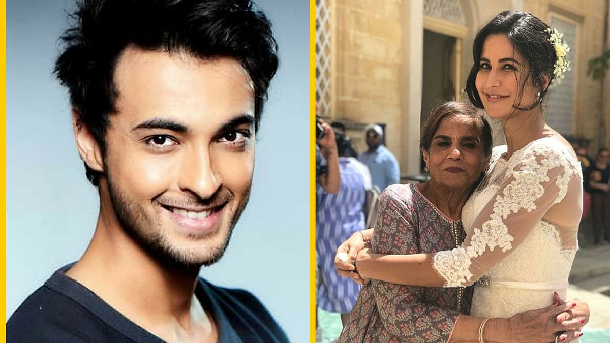 Aayush Sharma clears the air for Salman-Kat fans about the deletion of the picture of Salma Khan and Katrina.